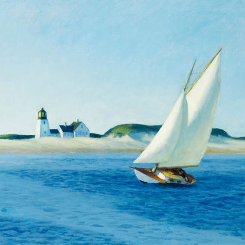 Edward Hopper, The Long Leg, ca. 1930