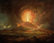 Joseph Wright of Derby - Vesuvius from Portici, ca.1774-76