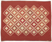 unknown American - Red Friendship Quilt, 1855