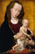 Rogier van der Weyden - Virgin and Child, ca. 1460