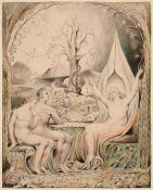 William Blake - Illustration 6 to Milton's