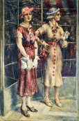 Reginald Marsh - Red Buttons, 1936