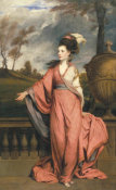 Joshua Reynolds - Jane Fleming, later Countess of Harrington, ca.1778-1779