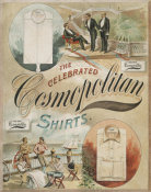 J.A. Scriven & Co. - The celebrated Cosmopolitan shirts, approximately 1880-1910