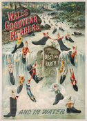 Wales Goodyear Shoe Co. - Wales goodyear rubbers: best on Earth: and in water, 1895