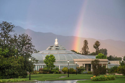 Martha Benedict - Conservatory Rainbow at the Huntington Botanical Gardens