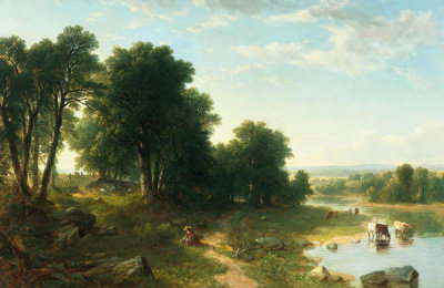 Asher Brown Durand - Strawberrying, 1834