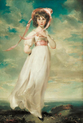 Thomas Lawrence - Sarah Goodin Barrett Moulton: