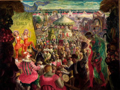 John Steuart Curry - State Fair, 1929
