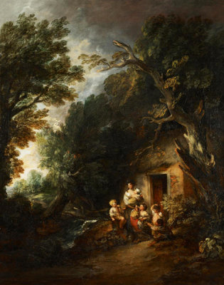 Thomas Gainsborough - Cottage Door, ca.1780