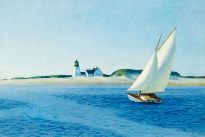 Edward Hopper - The Long Leg, ca. 1930