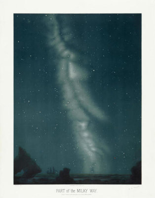 Etienne Léopold Trouvelot - Part of the Milky Way, 1881