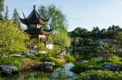Lisa Blackburn - Chinese Garden, Pavilion of the Three Friends