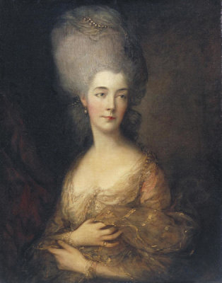 Thomas Gainsborough - Anne (Luttrell), Duchess of Cumberland, ca. 1777