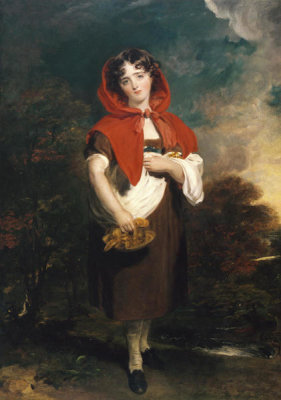 Thomas Lawrence - Emily Anderson: Little Red Riding Hood, ca.1821