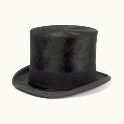 Collins & Fairbanks Co.(Maker) - Top Hat, ca. 1835