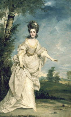 Joshua Reynolds - Diana (Sackville), Viscountess Crosbie, 1777