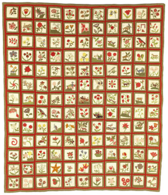 unknown American - Album Quilt, ca. 1850