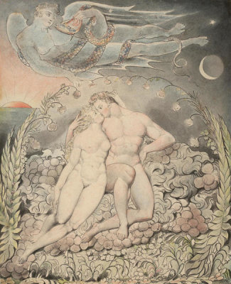 William Blake - Illustration 5 to Milton's