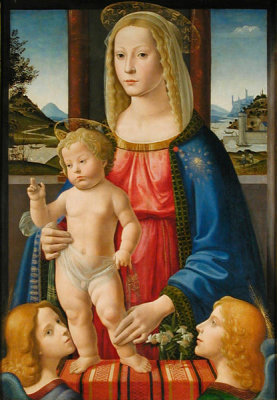 Bastiano Mainardi - Madonna and Child, n.d.