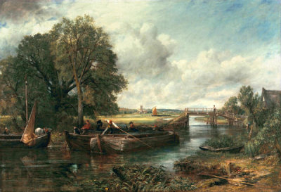 John Constable - View on the Stour near Dedham, 1822