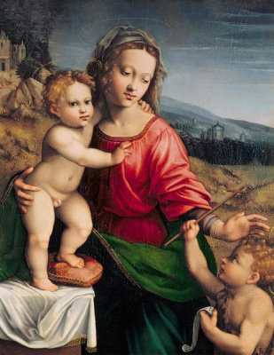 Francesco Granacci - Madonna and Child, 16th Century
