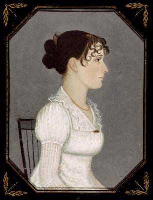 Mr. Boyd - Portrait of Hannah Spear, ca. 1820-1925