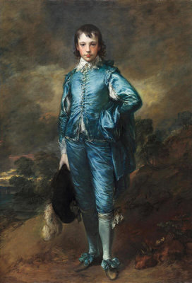 Thomas Gainsborough - The Blue Boy, 1770