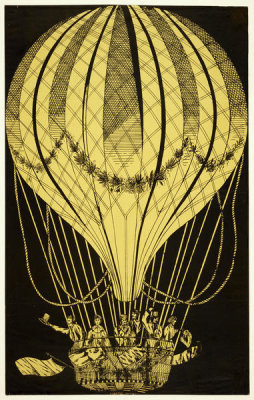 unknown engraver - Air Balloon, n.d.
