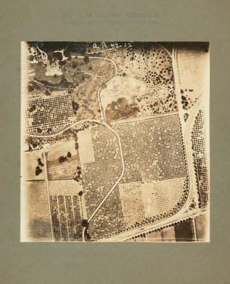 U.S. Army Signal Corps - Aerial Photograph of the Huntington Ranch, ca. 1919