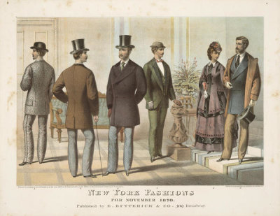 E. Butterick & Co. - New York fashions for November 1870,