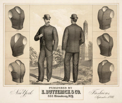 E. Butterick & Co. - New York fashions, September 1880,