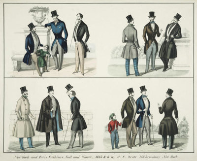 Genio C. Scott - New York and Paris fashions, fall and winter, 1845 & 6