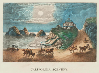 Haskell & Allen, printer and publisher - California scenery,  approximately 1875